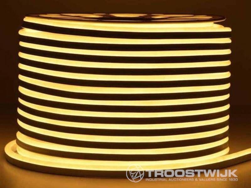100m neonflex wasserdichte LED-Streifen gelb