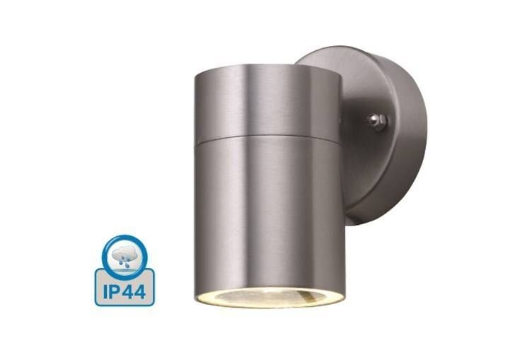 Gartenlampen; ip44; Mattchrom; 116 mm x 93 mm