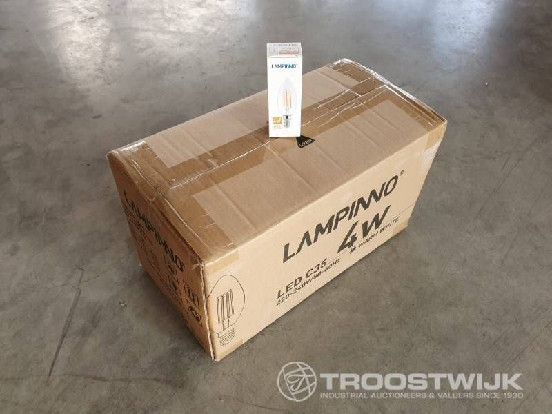4W E14 Filament LED Lampe; Warmweiß