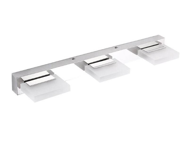 9W LED-Wand-, Spiegel- und Bildleuchten aus Chrom; Weiß