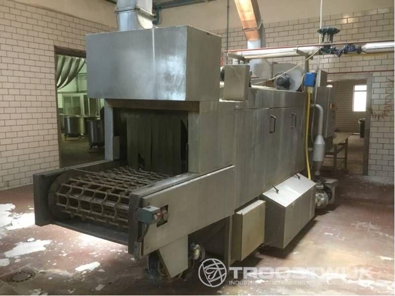 Edelstahl-Formenreinigungsmaschine