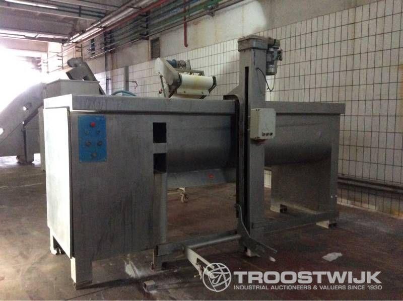 Edelstahl-Knetmaschine