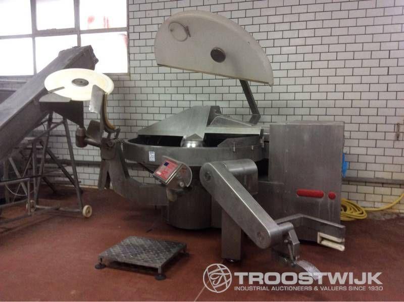 Fleischhackmaschine Cutter aus Edelstahl