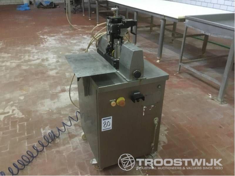Plombiermaschine für Etiketten