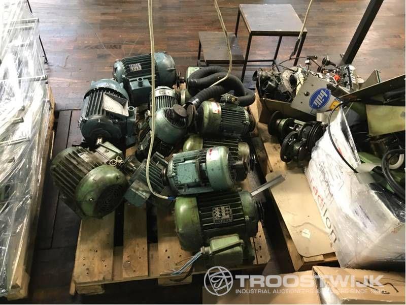 Elektromotor und Ersatzteile