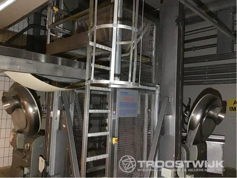 Knetmaschinen mit einsäuligen Hebebühnen