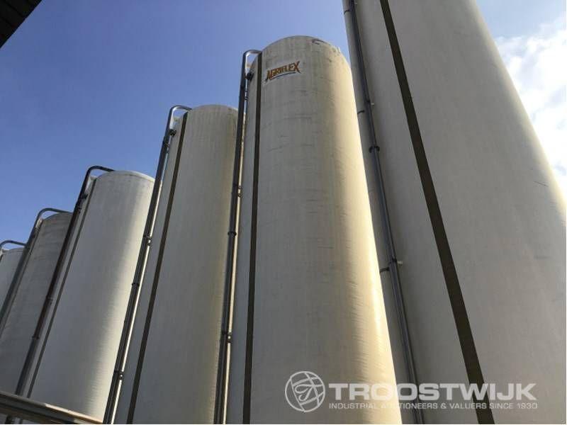 Glasfaser-Lagertank
