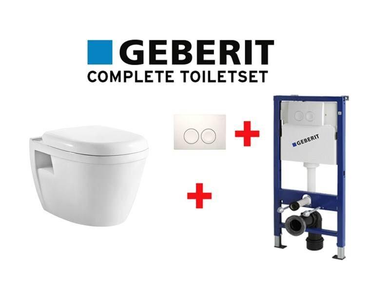 Geberit Complete Design WC-Set mit Soft Close WC-Sitz