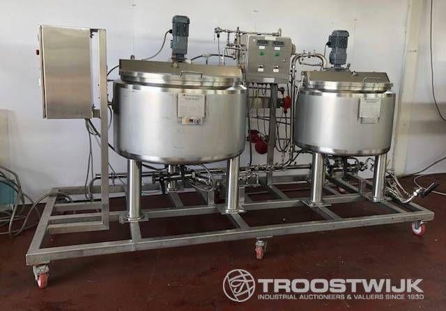 Twin Lagertanks