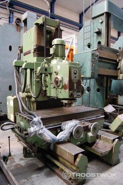vertikale Fräsmaschine