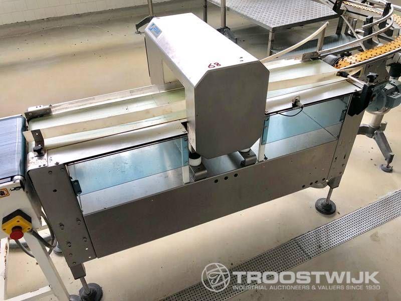 Metalldetektor / Kontrollwaage