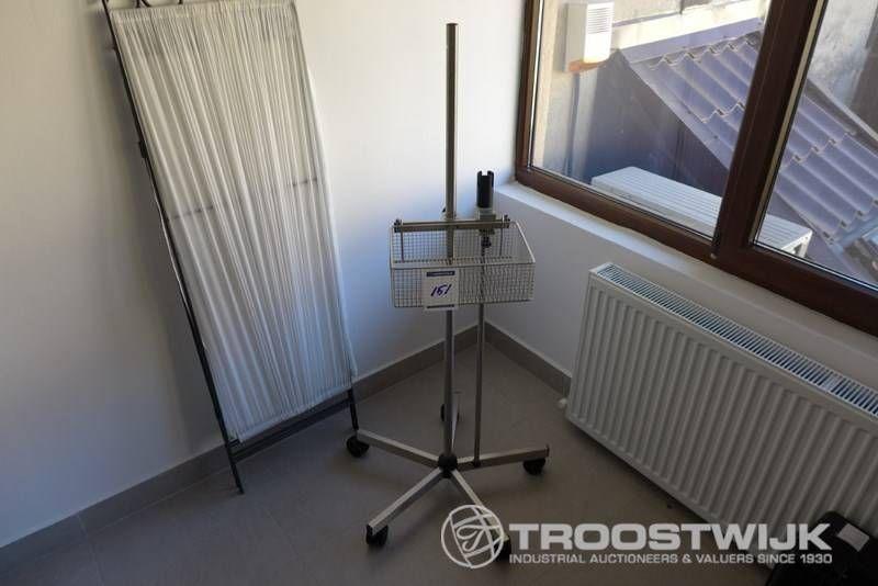 Laryngoskop- und Monitorhalterung