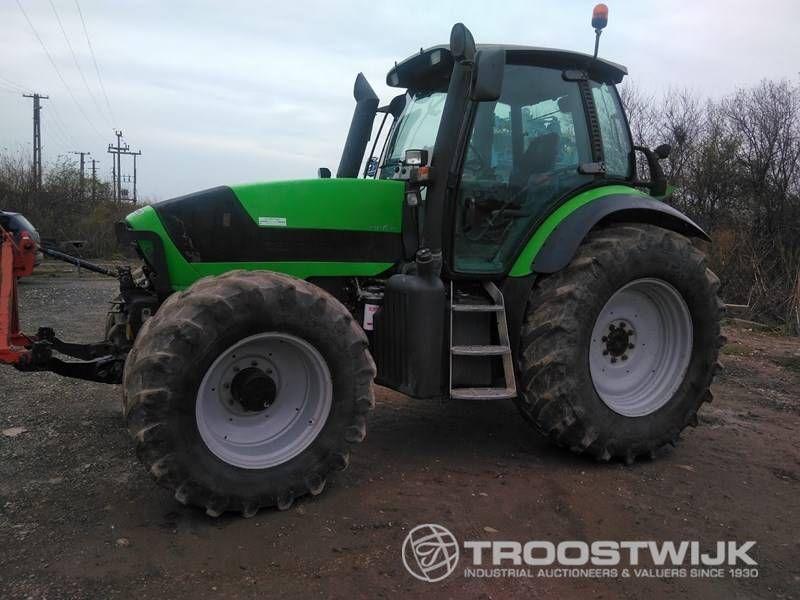 4-Rad-Traktor