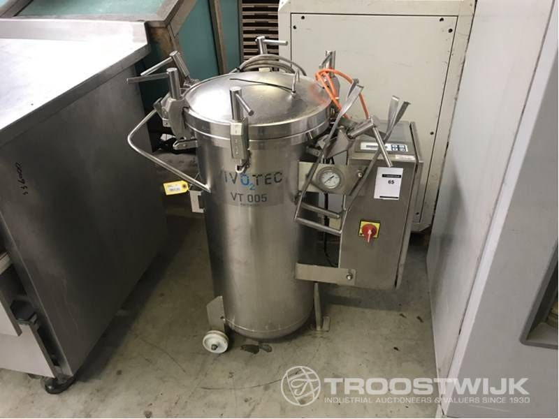 Sauerstoff-Hochdruckanlage