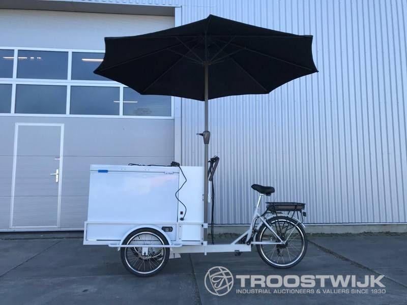 elektrisches ICE Cream Cargo Bike