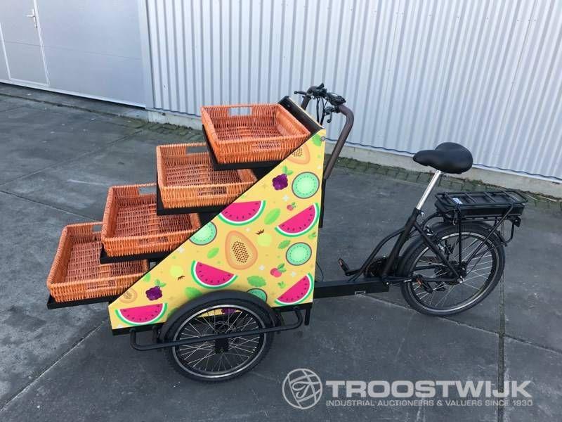elektrisches Einzelhandels-Cargo-Bike