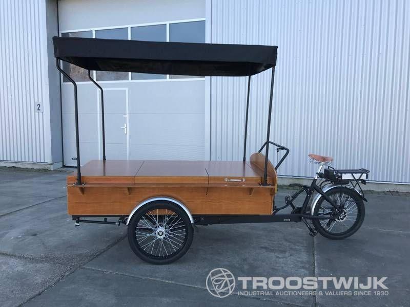 elektrisches Kaffee-Cargo-Bike