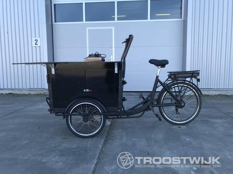 elektrisches Lebensmittel-Cargo-Bike