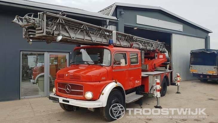 Leiter Feuerwehrauto