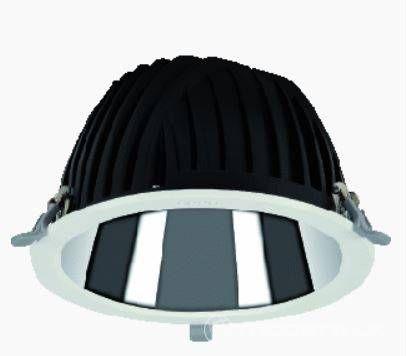 3x LED-Einbauleuchte