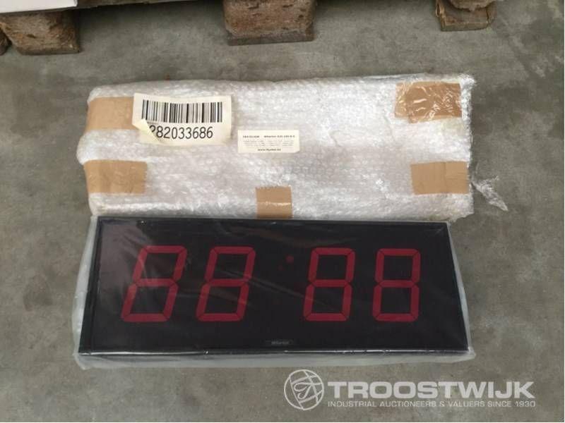 Wanduhr Uhr DIGIT Industrial
