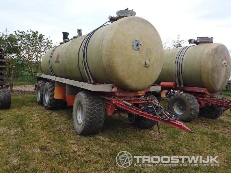 Gülle-Tanker
