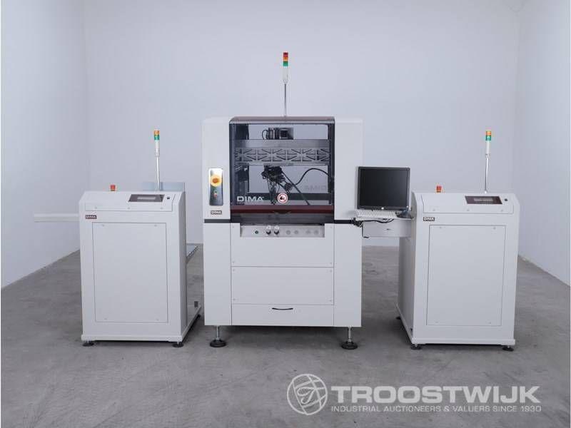 4-Achsen-Leiterplattenbeschichtungsroboter