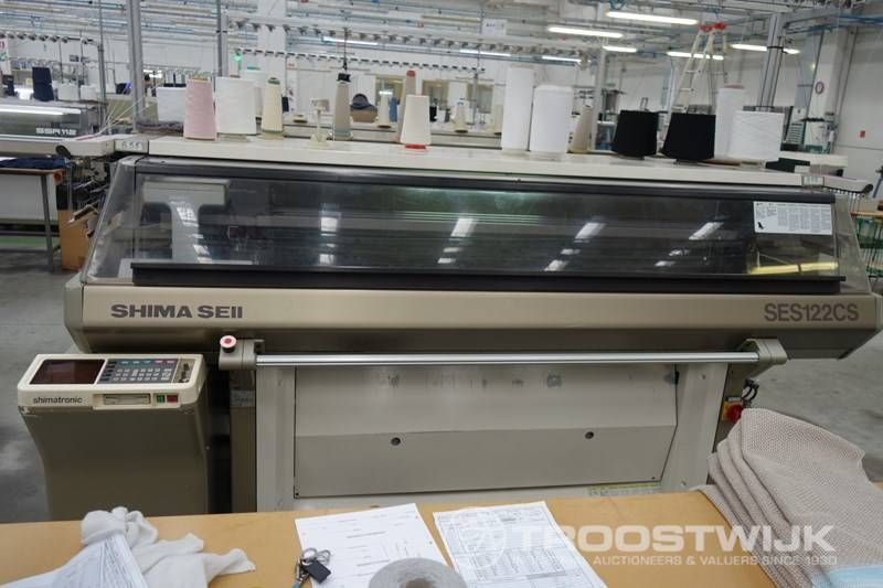 Shima Seiki Flachstrickmaschine