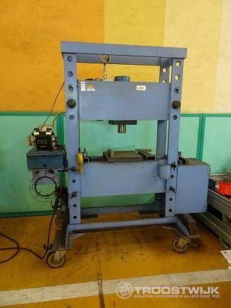 hydraulische, mobil Werkstattpresse