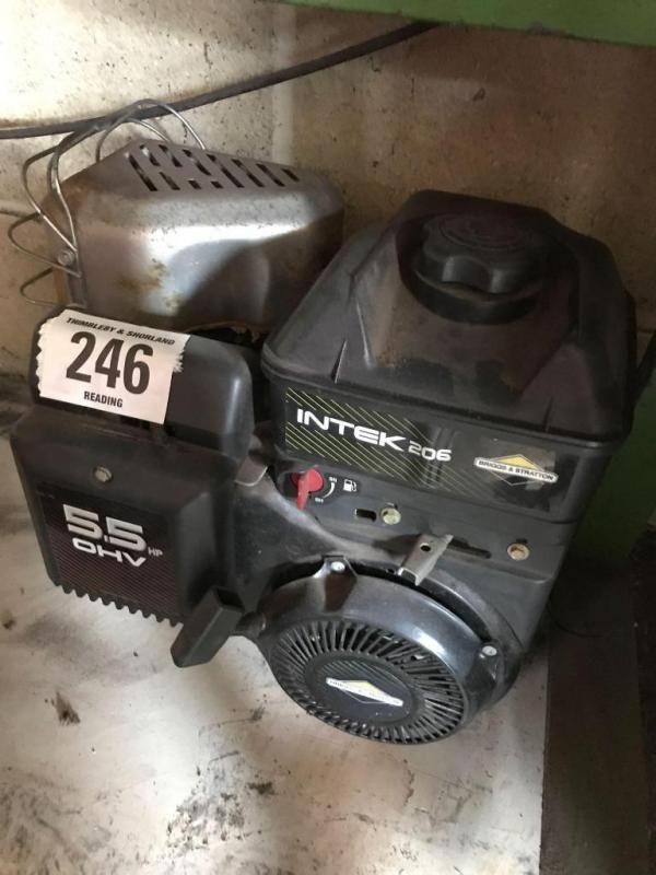 Briggs & Stratton Intec 206 5,5 PS Motor - gebraucht - läuft