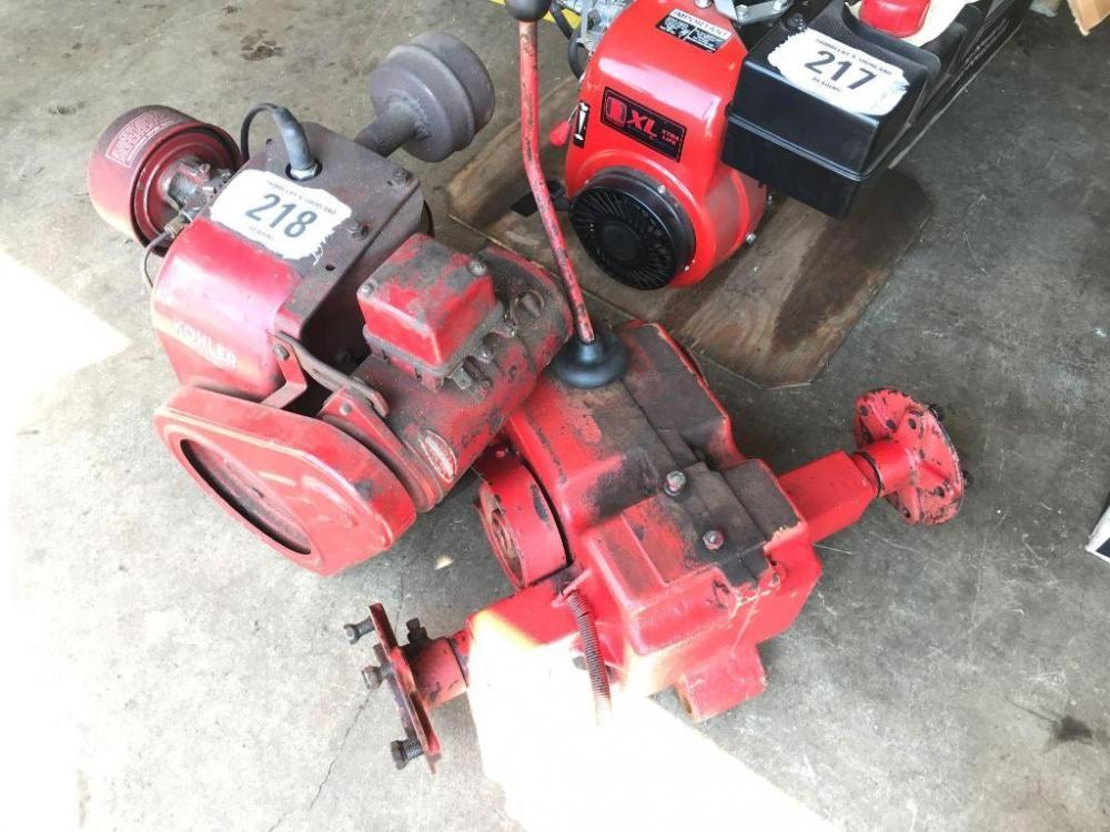 Kohler K1815 Motor & Getriebe