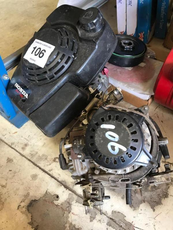 2 Honda GV100 Motoren - für 1 Motor
