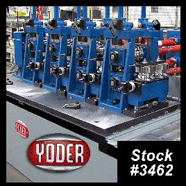 "New Tube Mill Line For Sale - 3.125"" Yoder, Kent, Universal"