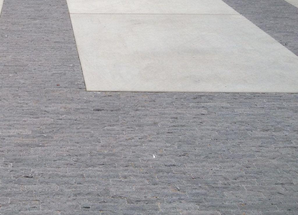 38 m² Natursteinklinker Blaustein 20x5x5cm