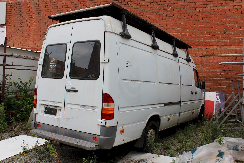 Leichtlastwagen MERCEDES-BENZ SPRINTER