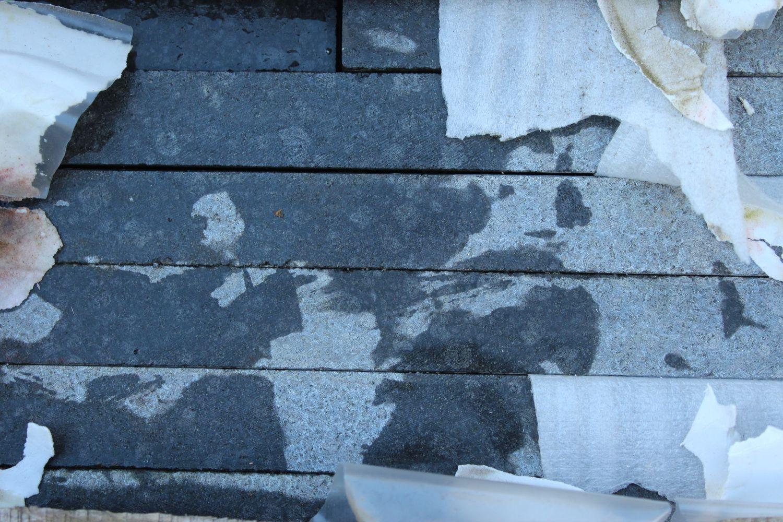 1 Satz Fassadensockel Basalt Div. Länge x40x3cm geschliffen