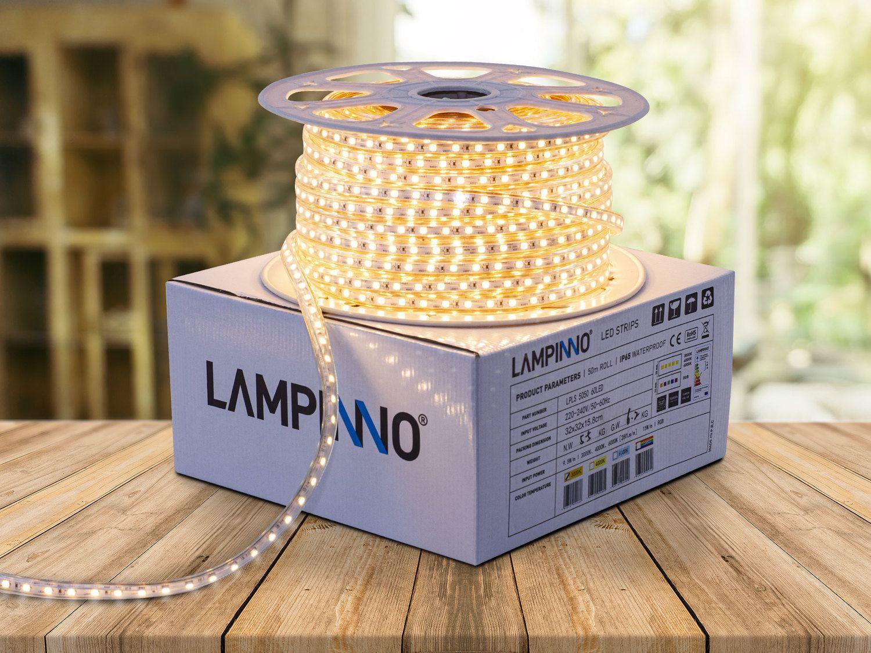 5 x 50 Meter 9,5 W / Meter IP65 wasserdichte SMD LED-Streifen Enk