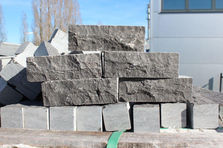 10,32 m² Natursteinklinker Blaustein 15x5x5cm