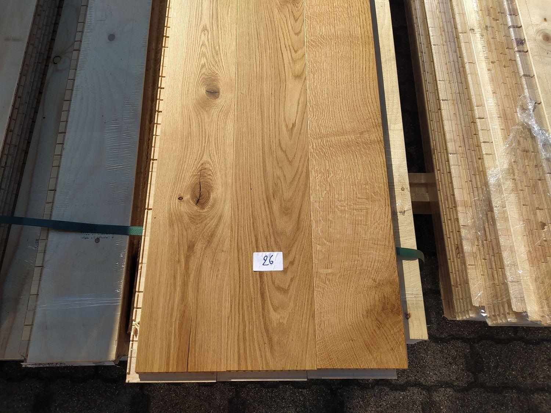 19,91 m2 mehrschichtiger Parkettboden aus Eichenholz