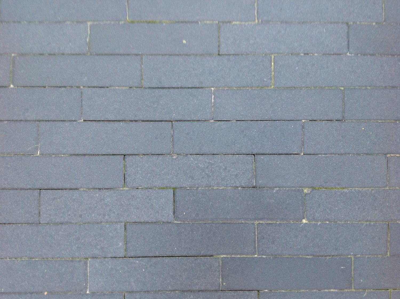 10,75 m² Natursteinklinker 20x5x4cm Basalt geschliffen
