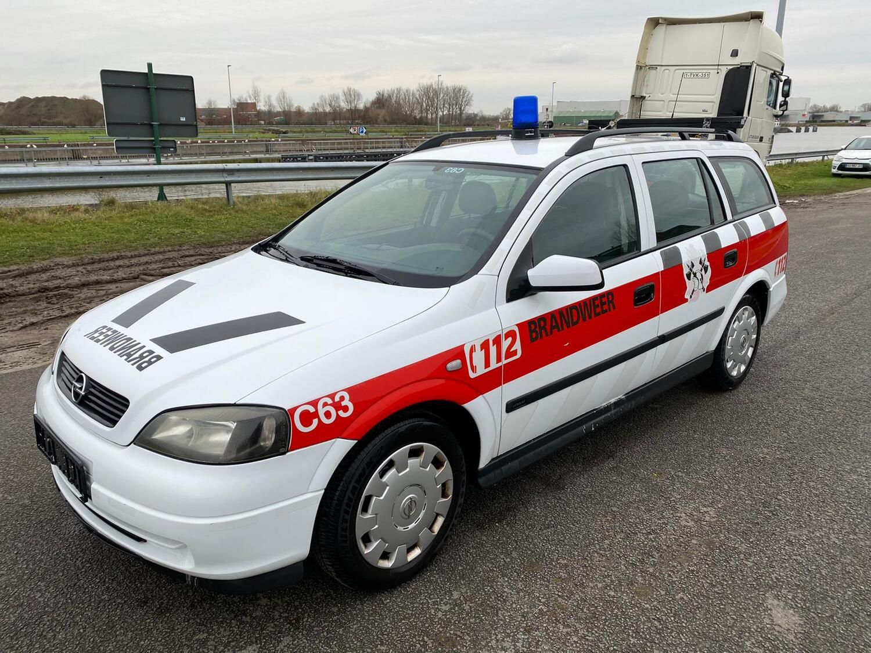 Kommandowagen OPEL ASTRA COMBO, 08/03/2002
