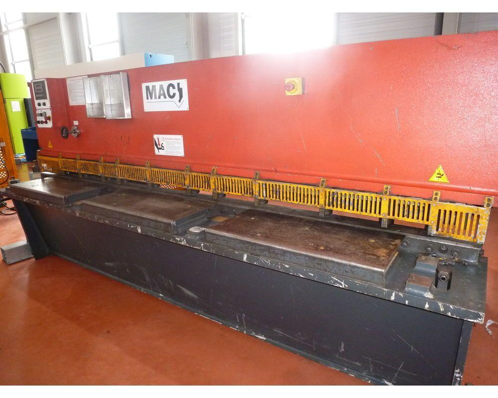 Guillotinenschere - IMAC - QC12Y - 3200x6 mm