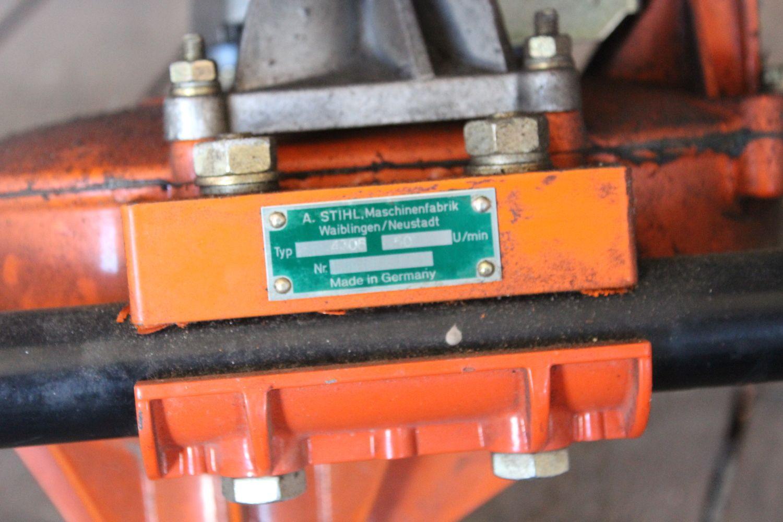 Erdbohrmaschine auf STIHL BT360