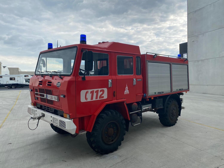 Waldbrandwagen IVECO / FIAT OM, 1982