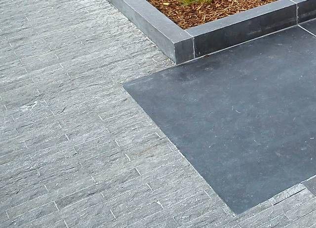 29,15 m² Natursteinklinker Blaustein 30x5x5cm