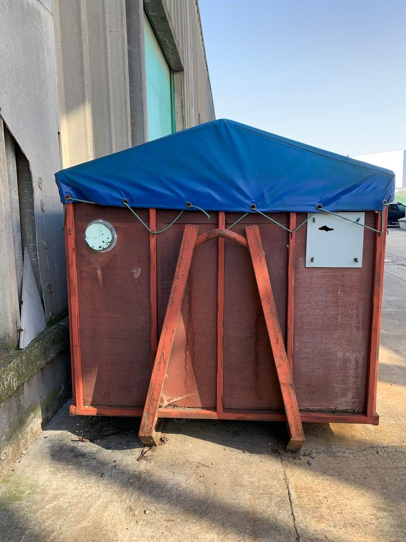 Container Holzspäne