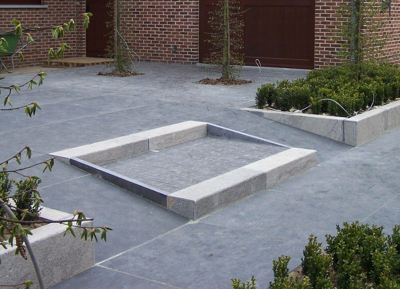 17 Stück Treppenstufen oder Bordstein Blaustein 100x25x15cm