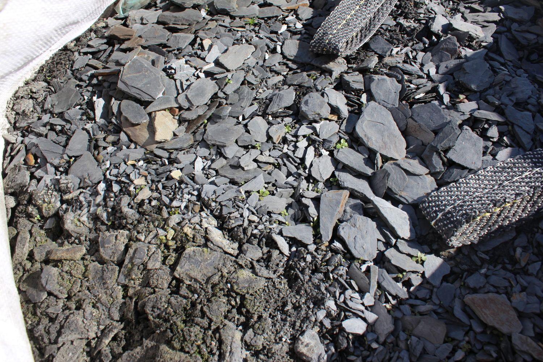 1,15 Tonnen Schiefer Anthrazit 0/20 - ± 0,75 m³