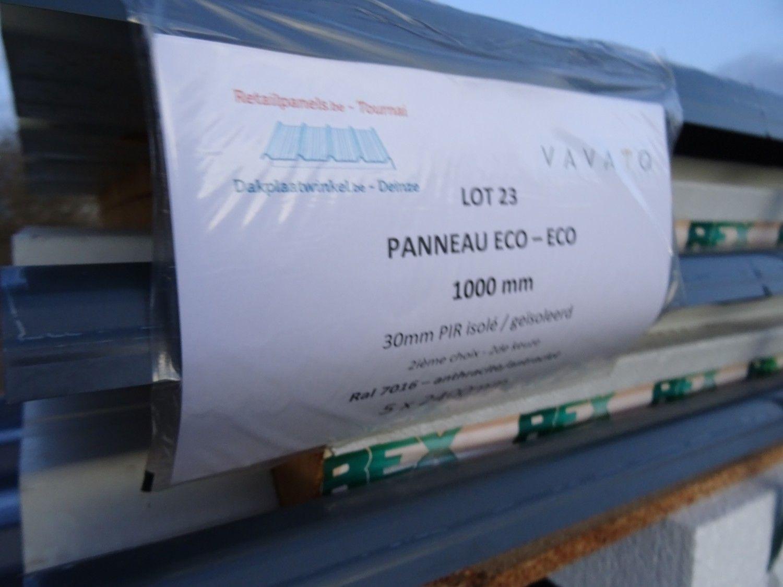5 Stück Dachplatte ECO 30mm PIR isoliert