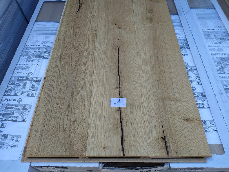 90,4 m2 mehrschichtiger Parkettboden aus Eichenholz